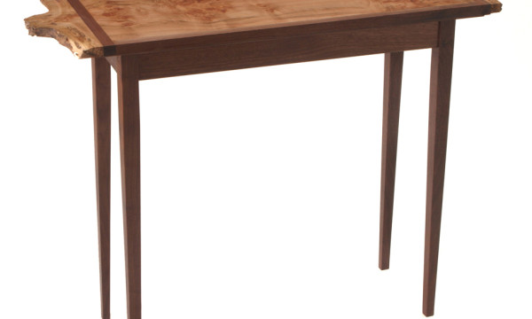Burled Maple Side Table