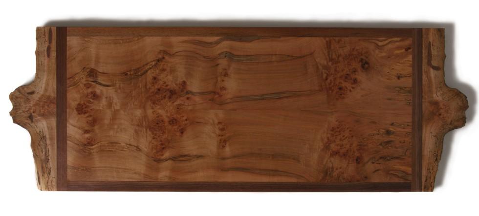 Burled Side Table PAN